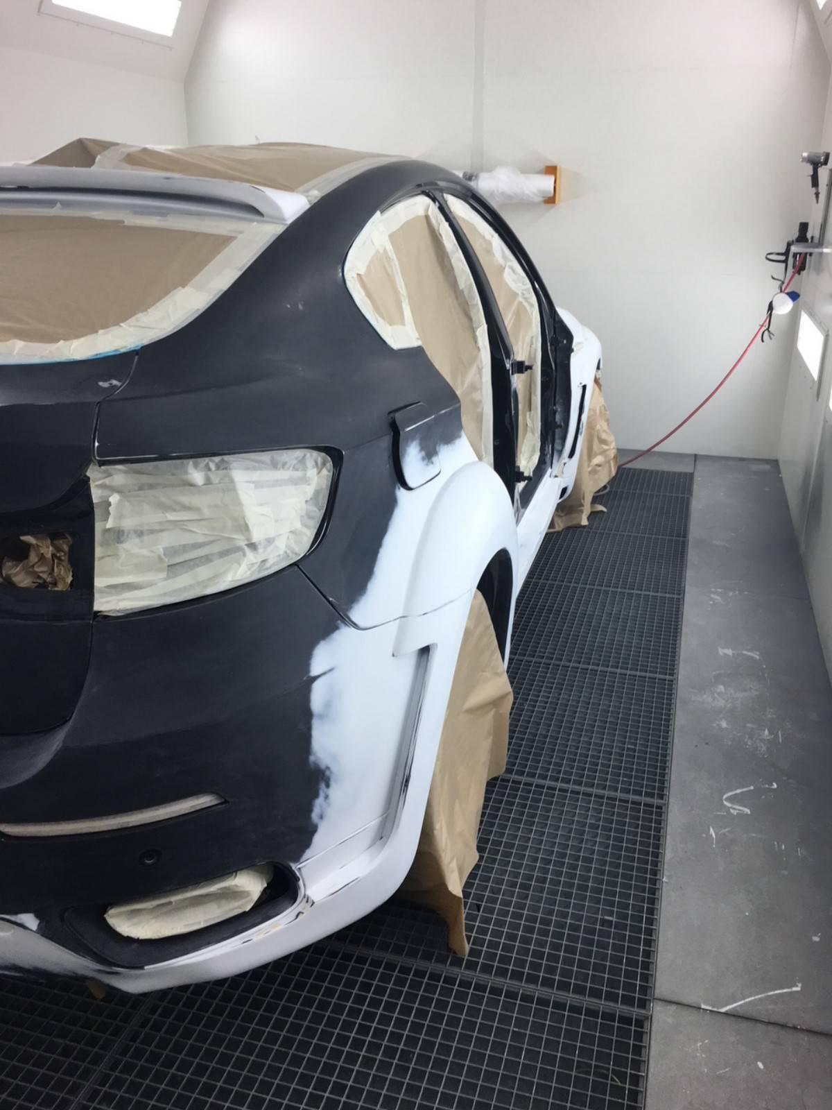 r paration carrosserie suite choc en stationnement bmw x6 aubagne carrosserie premium. Black Bedroom Furniture Sets. Home Design Ideas